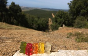 Gummibears on Tour Toskana